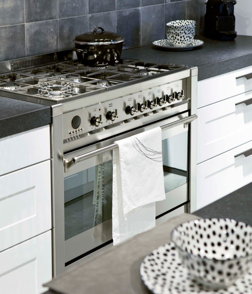 fornuis smeg showroom
