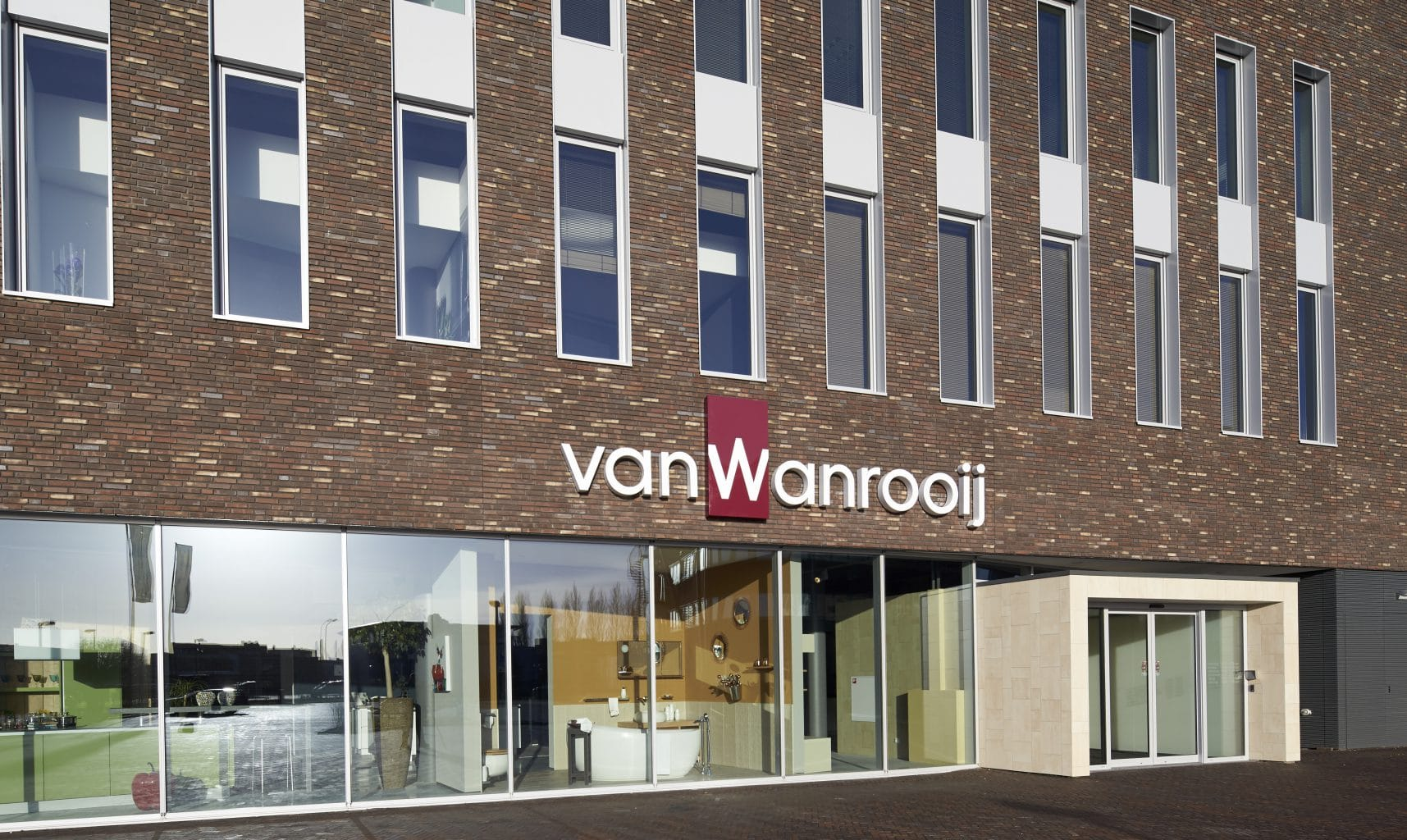 showroom Wanrooij Warenhuys Den Bosch
